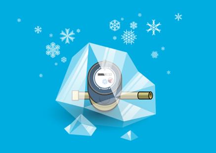 Protégez votre compteur contre le gel